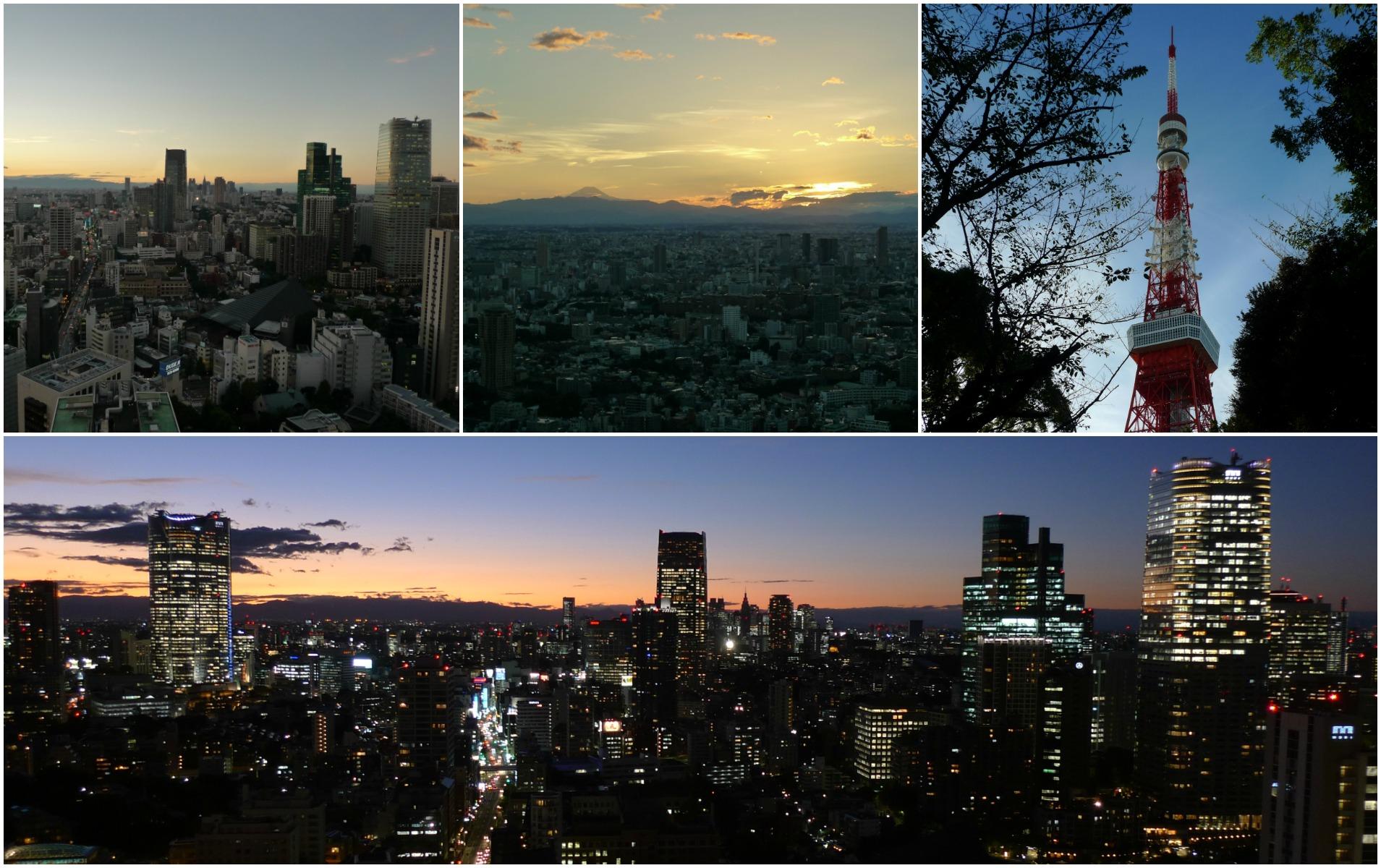 Aussichten vom Tokyo Tower