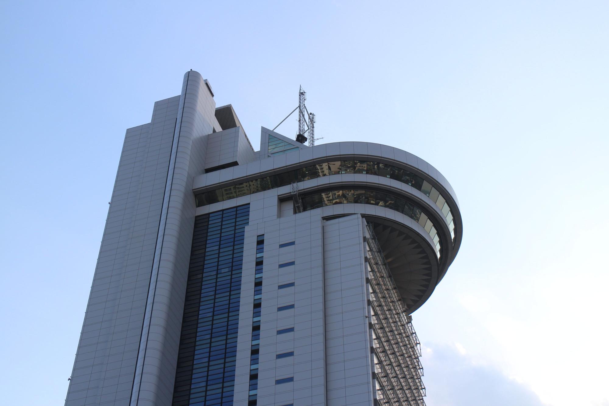 Das Bunkyo Civic Center besticht vor allem durch sein extravagantes Design.