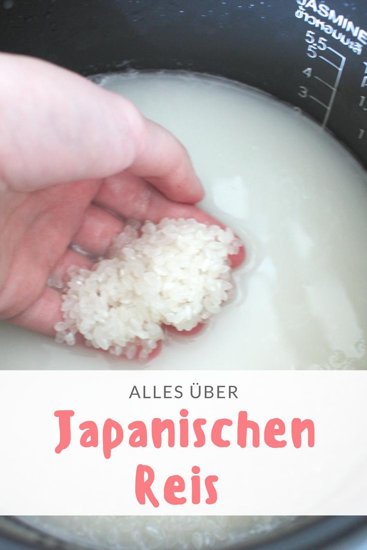 Sushi Reis kochen: eine Anleitung für die Zubereitung von japanischen Reis