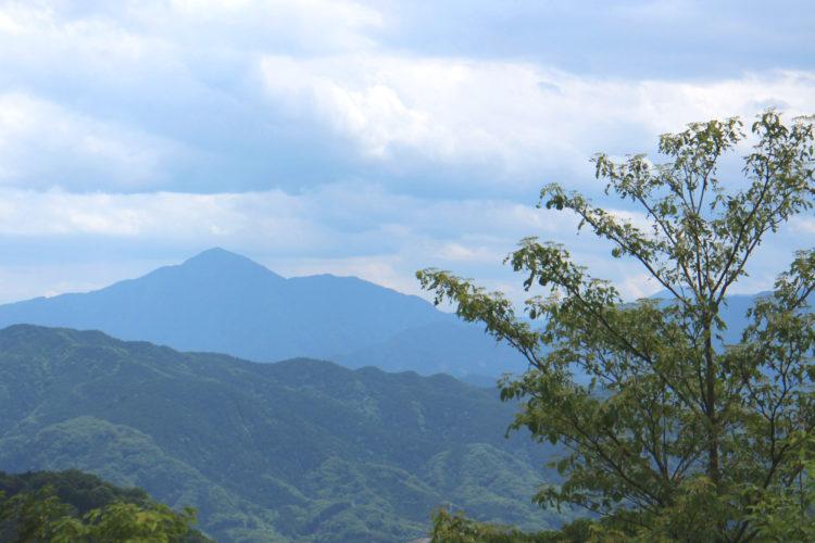 Blick vom Gipfel des Takao-san. Bei gutem Wetter könnte man hier den Fuji sehen.