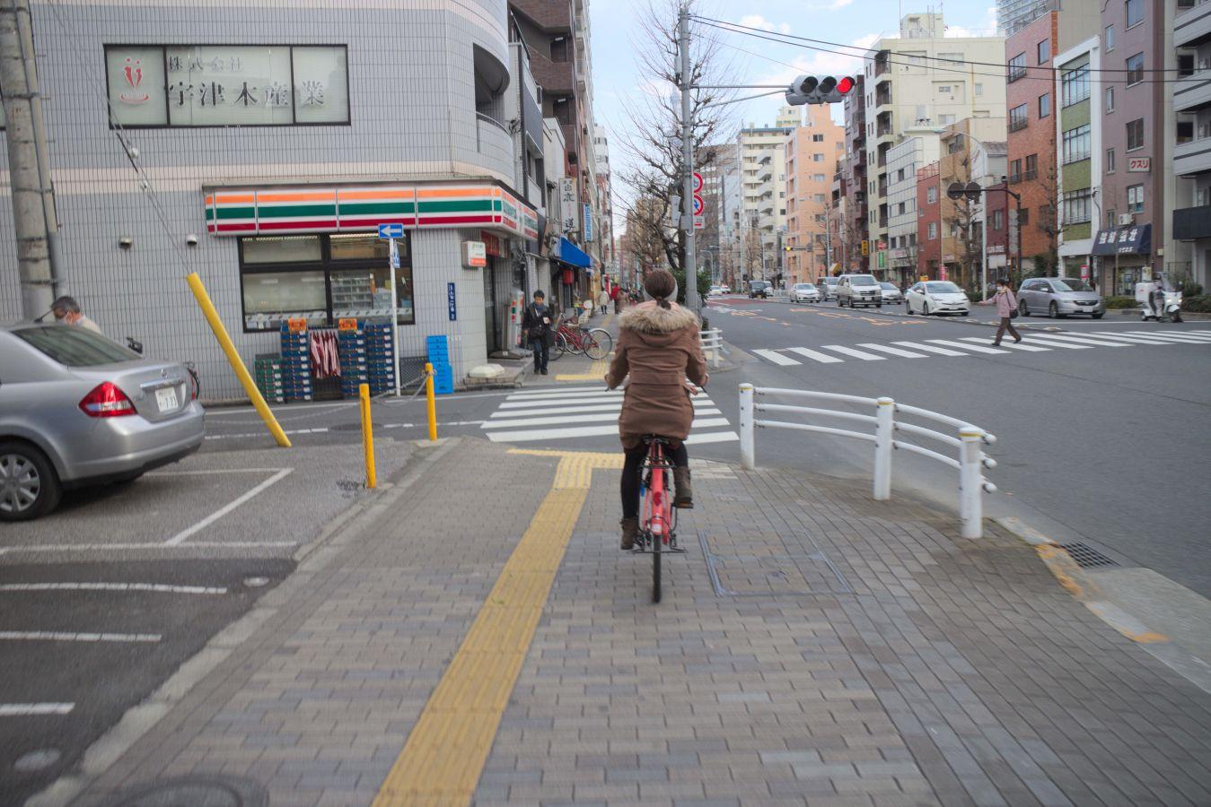Kuriose Dinge über das Fahrrad fahren in Japan