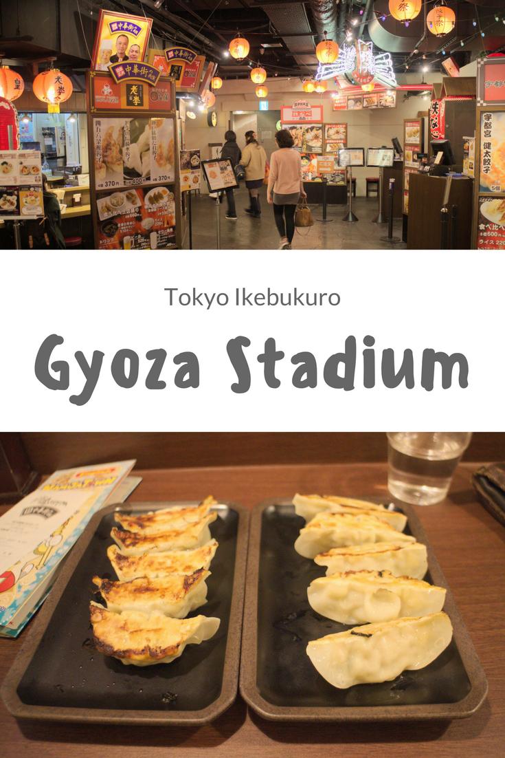 [Tokyo] Namco Namja Town mit Gyoza Stadium