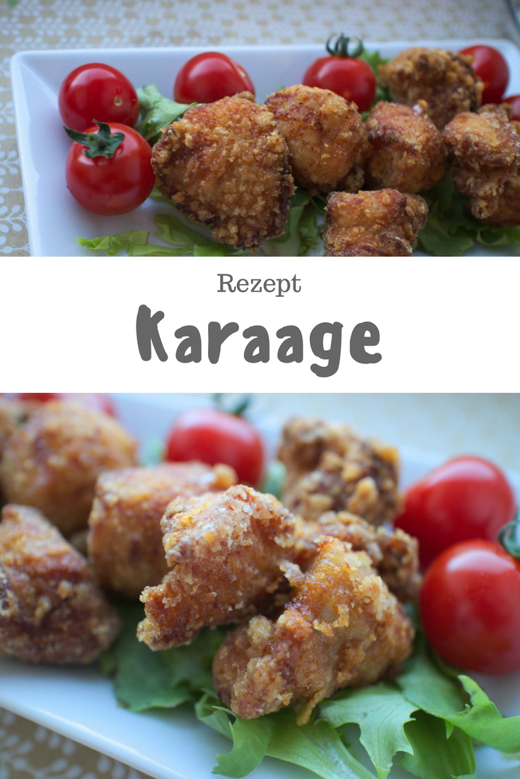 [Rezept] Karaage – frittierte Hähnchen-Teilchen auf japanisch (唐揚げ)
