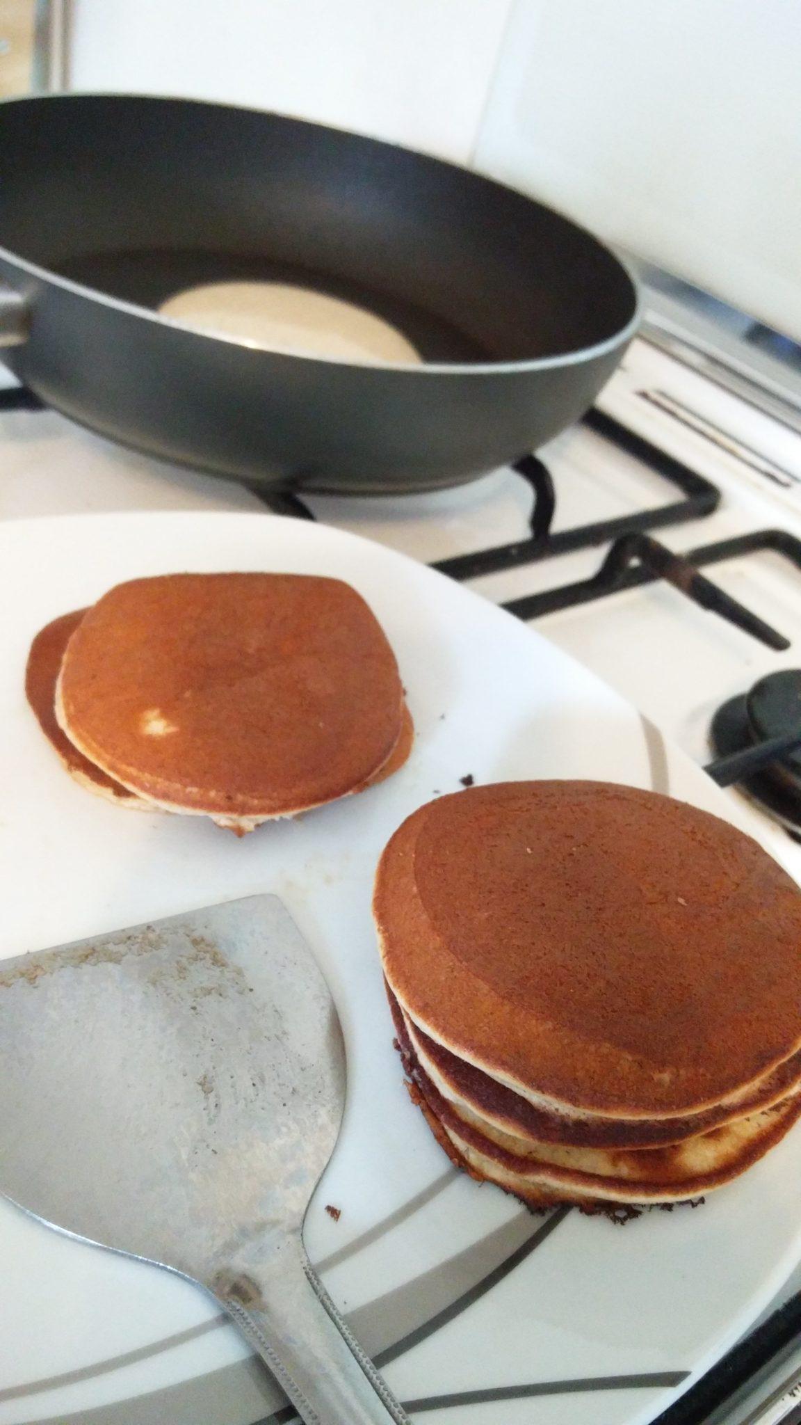 [Rezept] Dorayaki – japanische, gefüllte Pfannkuchen (どら焼き)