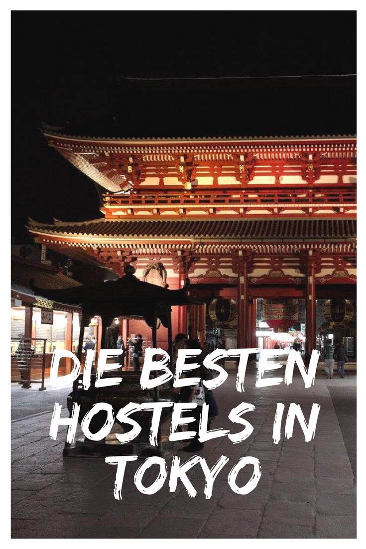 Außergewöhnliche und tolle Hostels in Tokyo