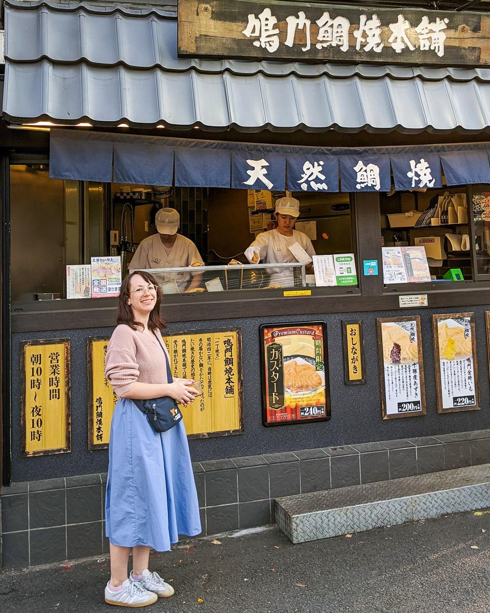 Taiyaki in Tokyo