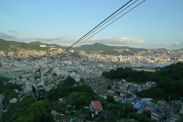 Nagasaki Aussicht Ropewas