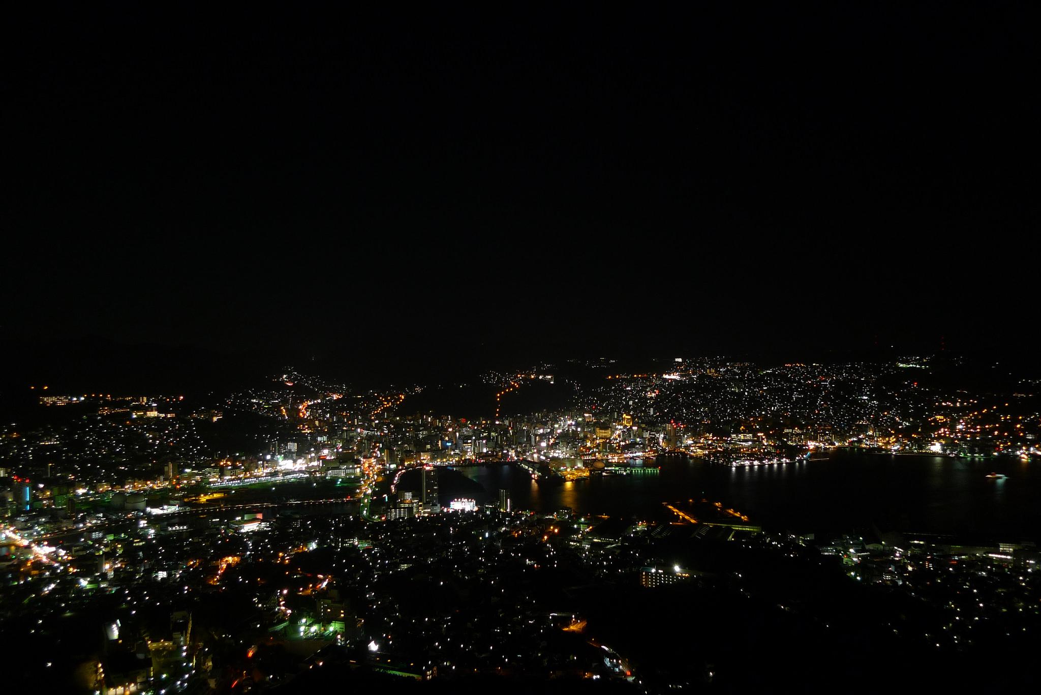 Nagasaki Inasa Aussicht