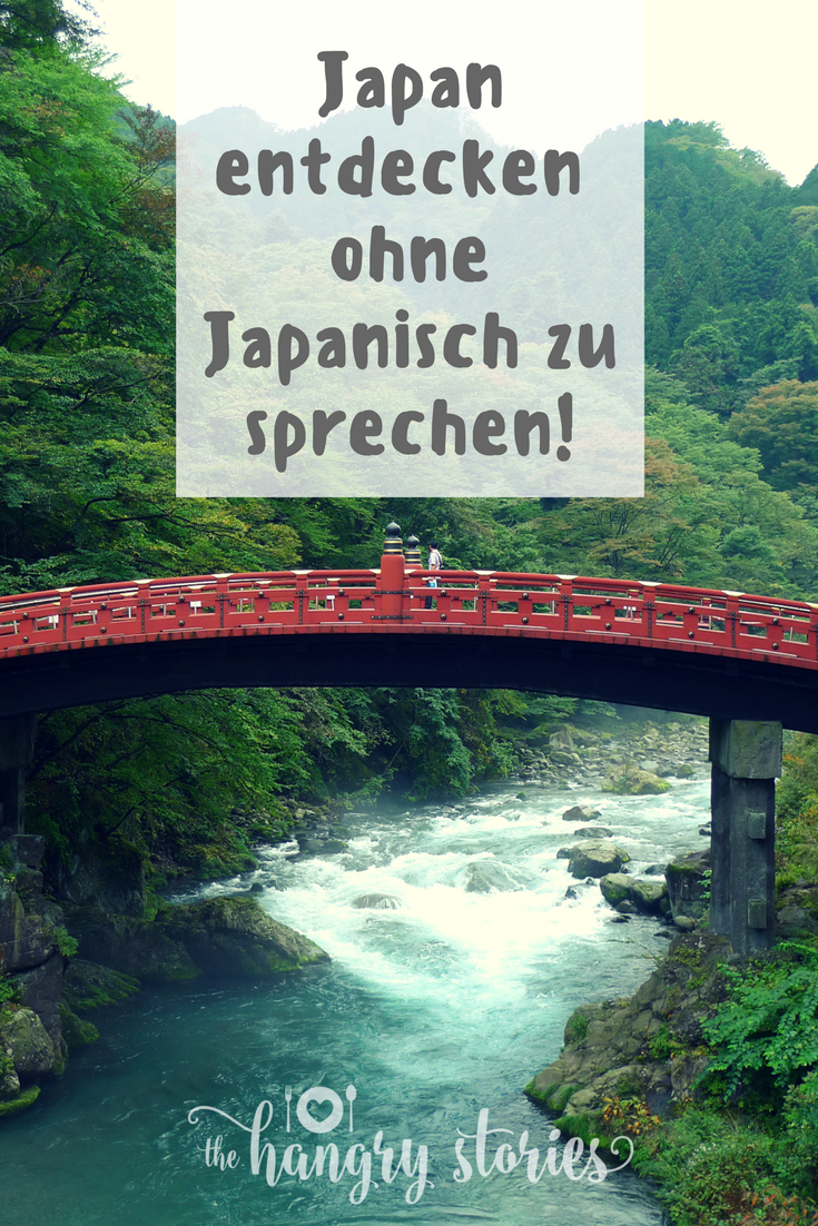 Nach Japan reisen ohne Sprachkenntnisse: keine Angst!