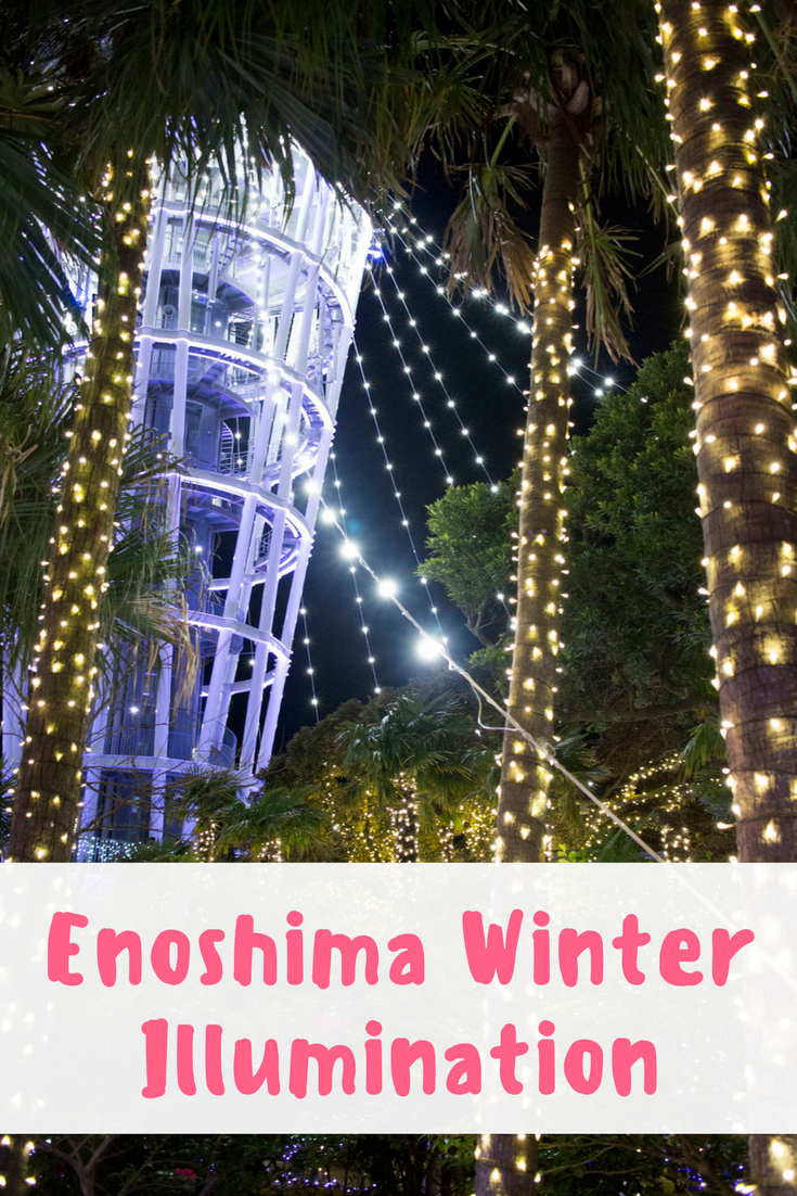 Enoshima: Winter Illumination