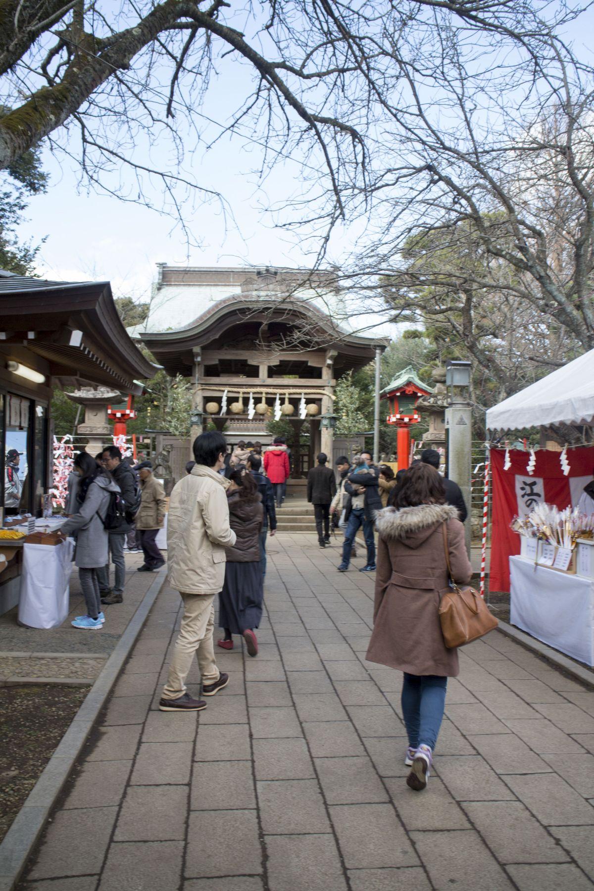 Enoshima: Winter Illumination