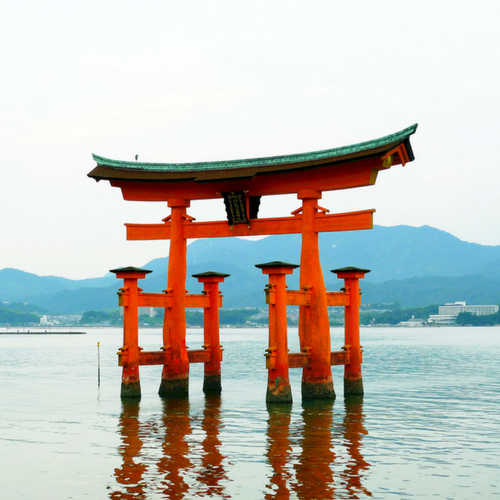 Hiroshima und Okayama