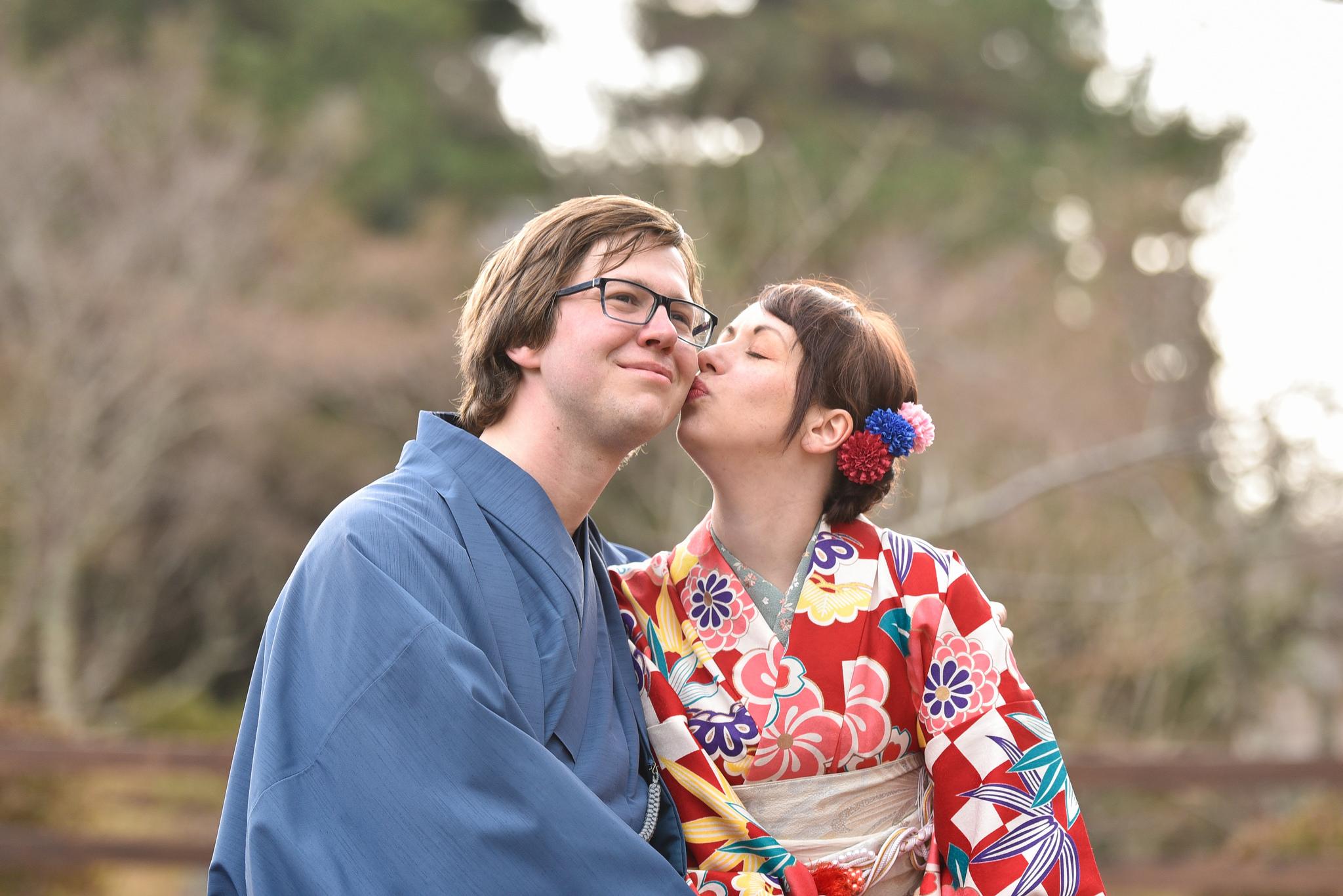 """[Kyoto] Kimono leihen mit Fotoshooting für Paare bei """"Mission Gion"""" & Tipps für Arashiyama"""