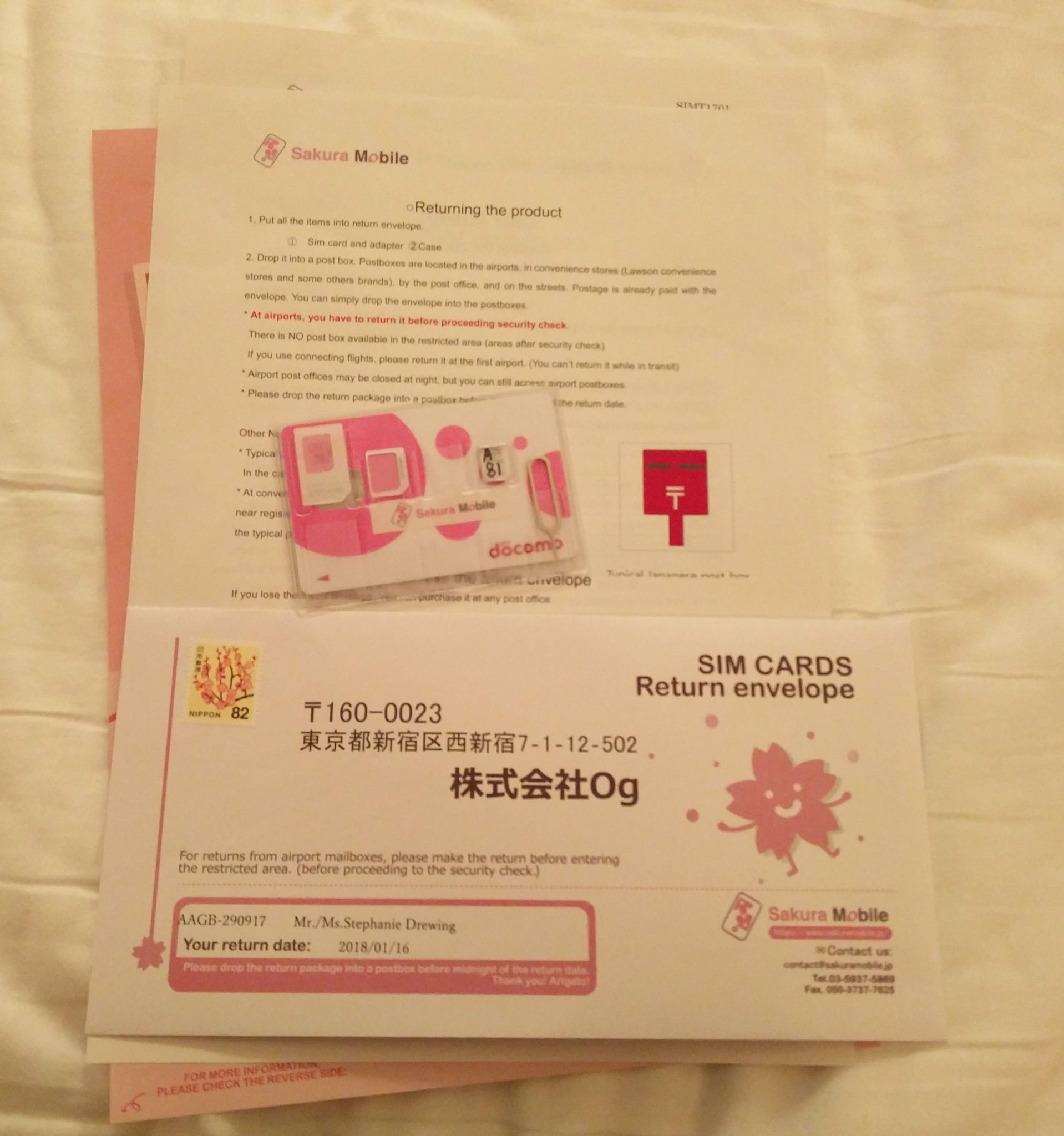 Mobiles Internet in Japan: Pocket Wifi, Prepaid Sim oder Free Wifi?