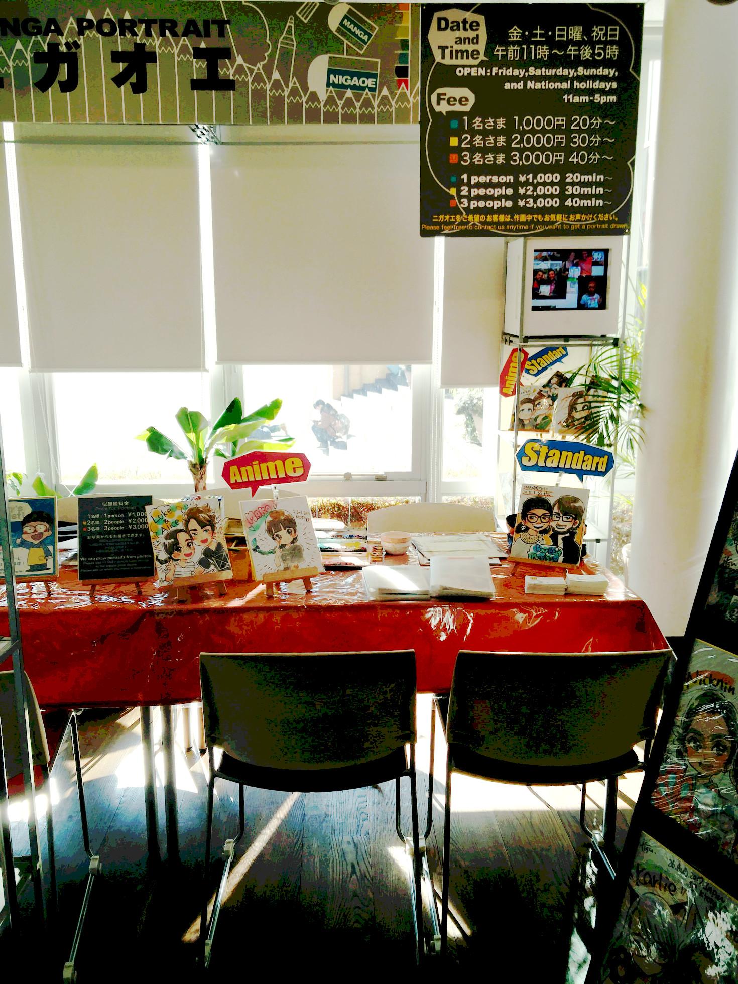 Kyoto Manga Museum: Lass dich als Manga-Figur zeichnen in der Manga Portrait Corner!