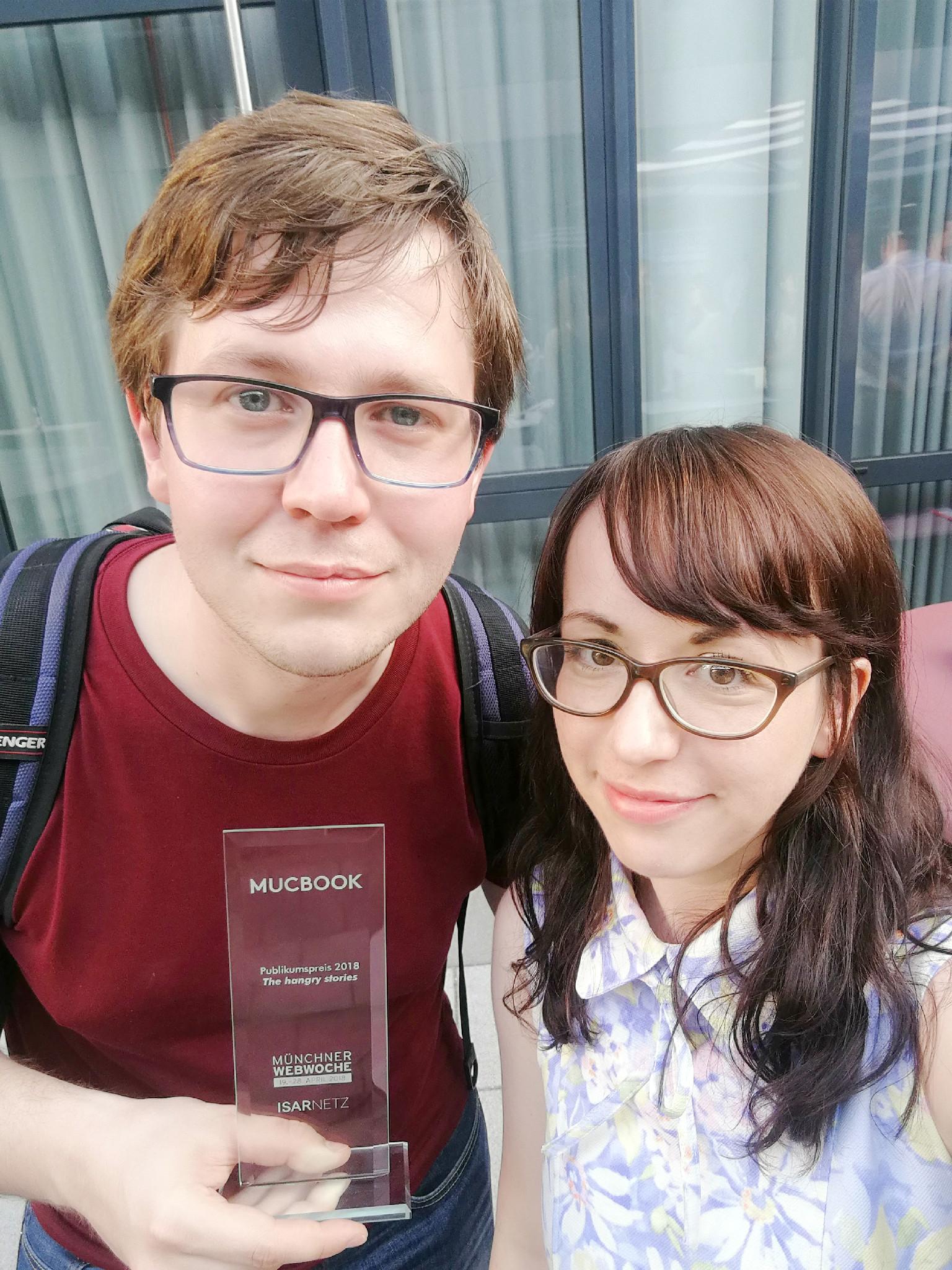 Isarnetz Blogaward 2018: Yeah, wir haben gewonnen!