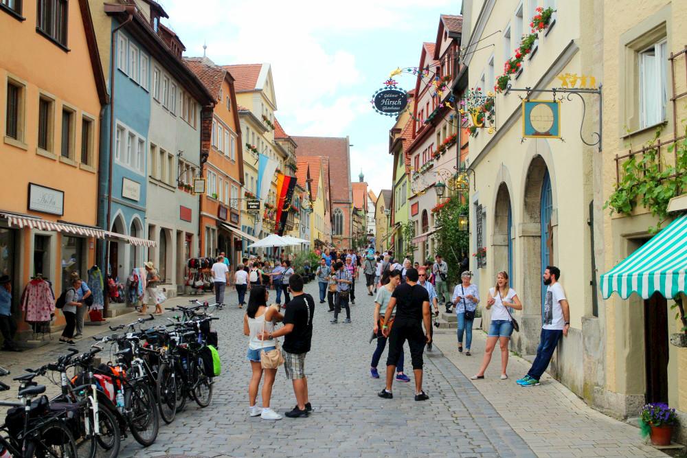 Pfingsten in Rothenburg ob der Tauber: ein bisschen Japan