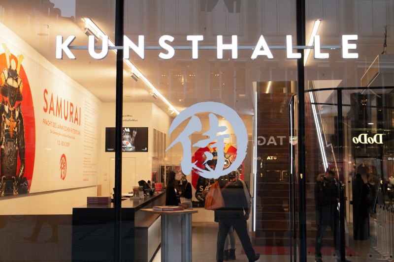 Samurai Ausstellung Kunsthalle