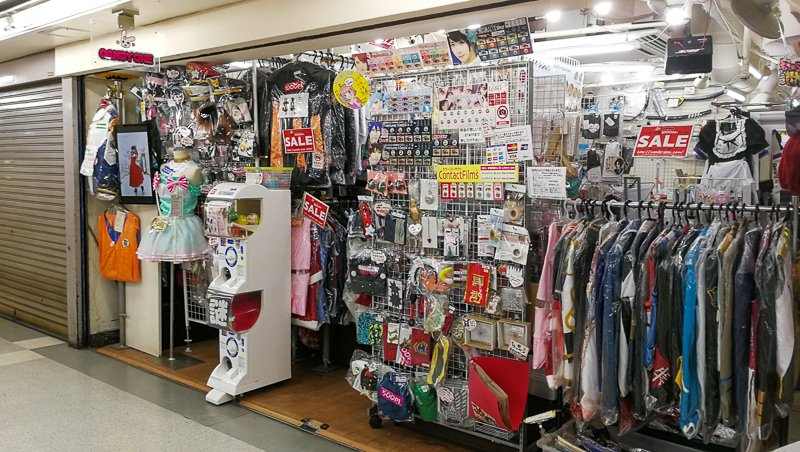 Cosplay Shops Tokyo Nakano Broadway Candy One