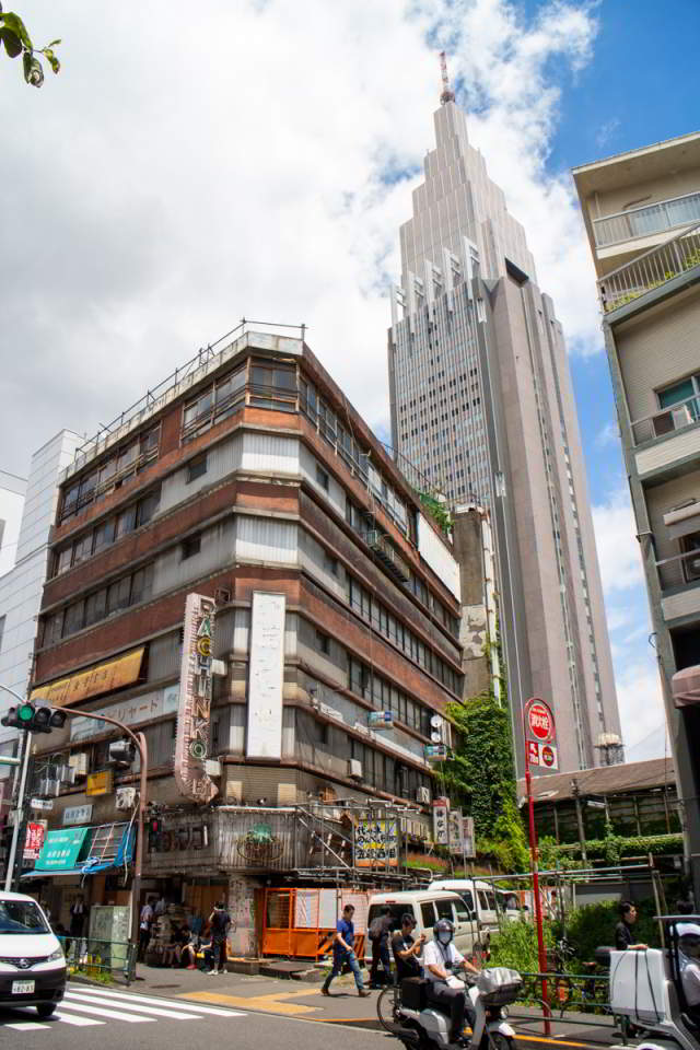 Yoyogi Kaikain Building 1 Weathering with you