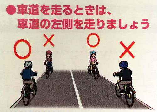 Verkehrsregeln für Fahrräder in Japan: Geisterfahrer auf der Fahrbahn