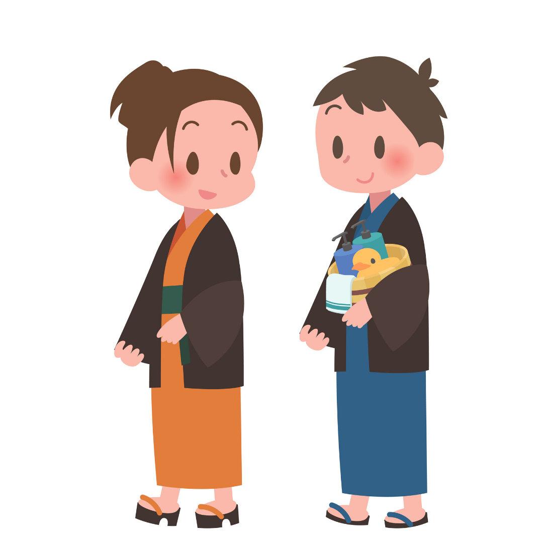 Onsen-Artwork
