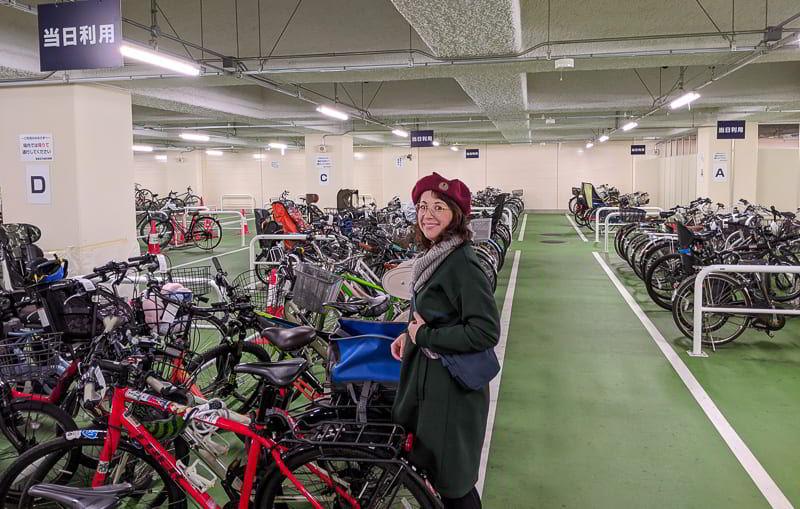 Fahrrad Stellplatz Japan