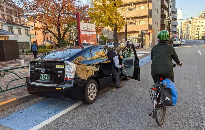 Verkehrsregeln Fahrrad Japan - Abstand
