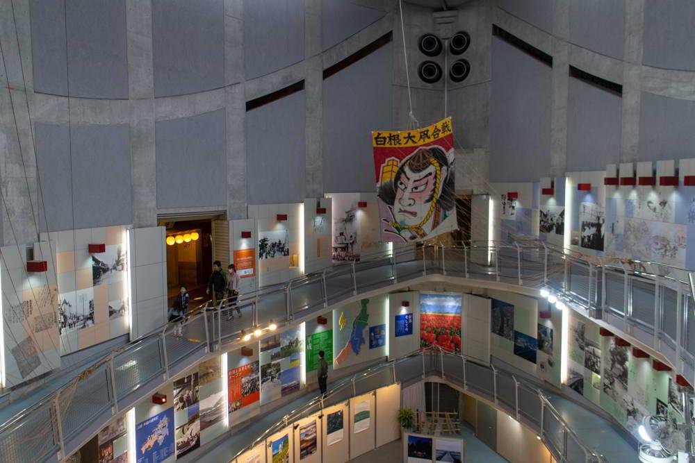 Ausstellung über Leben in Niigata