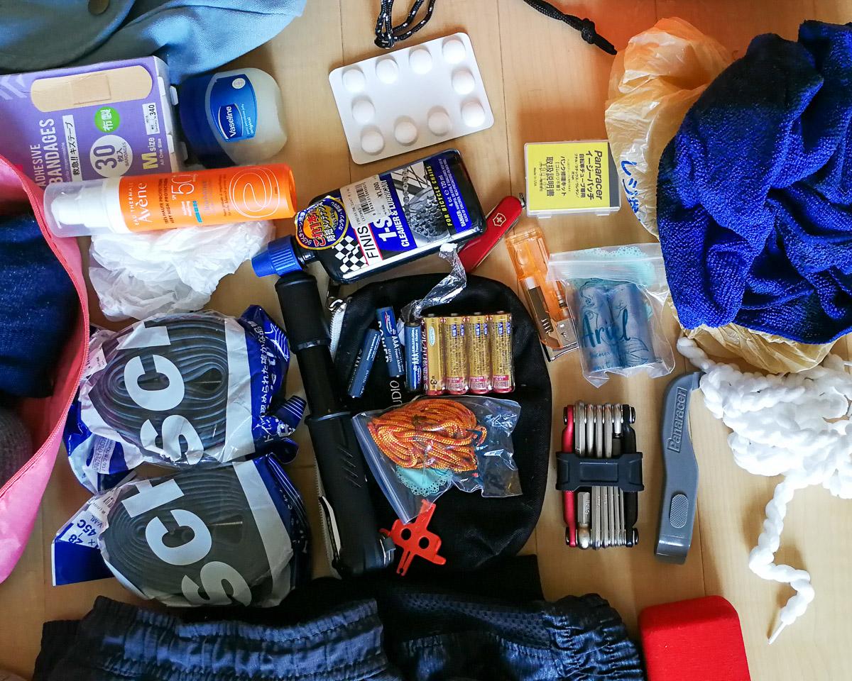Packliste Japan Radreise