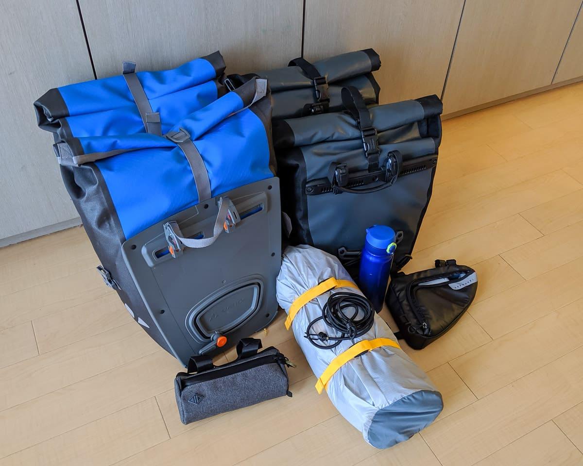 Packliste Radtour Japan