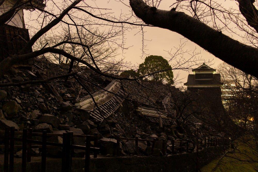 Das Erdbeben hat vor allem die original erhaltenen Wachhäuser in Mitleidenschaft gezogen.