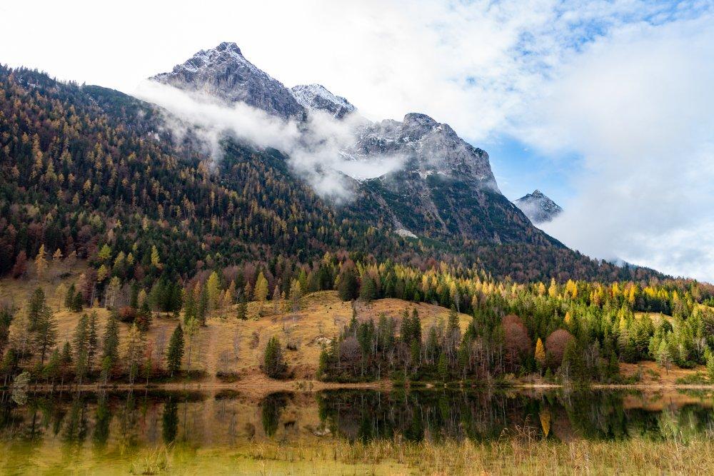 Radtour am Alpenrand