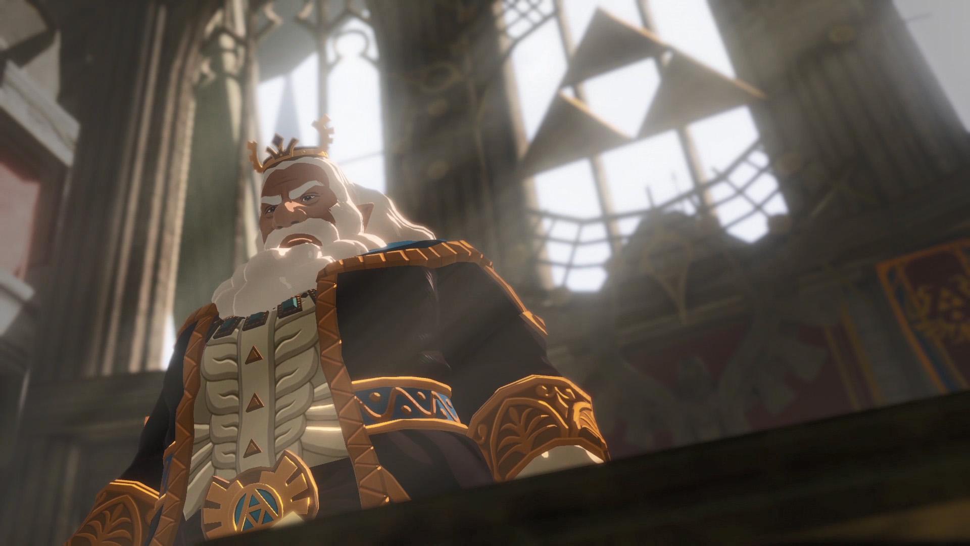 Der König von Hyrule hat natürlich auch seinen Auftritt.