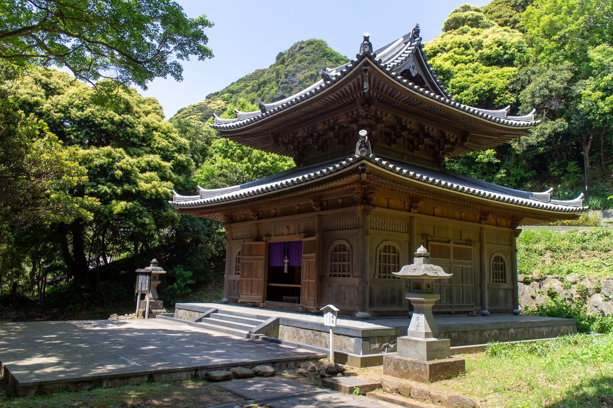Nihon-ji Tempelgebäude