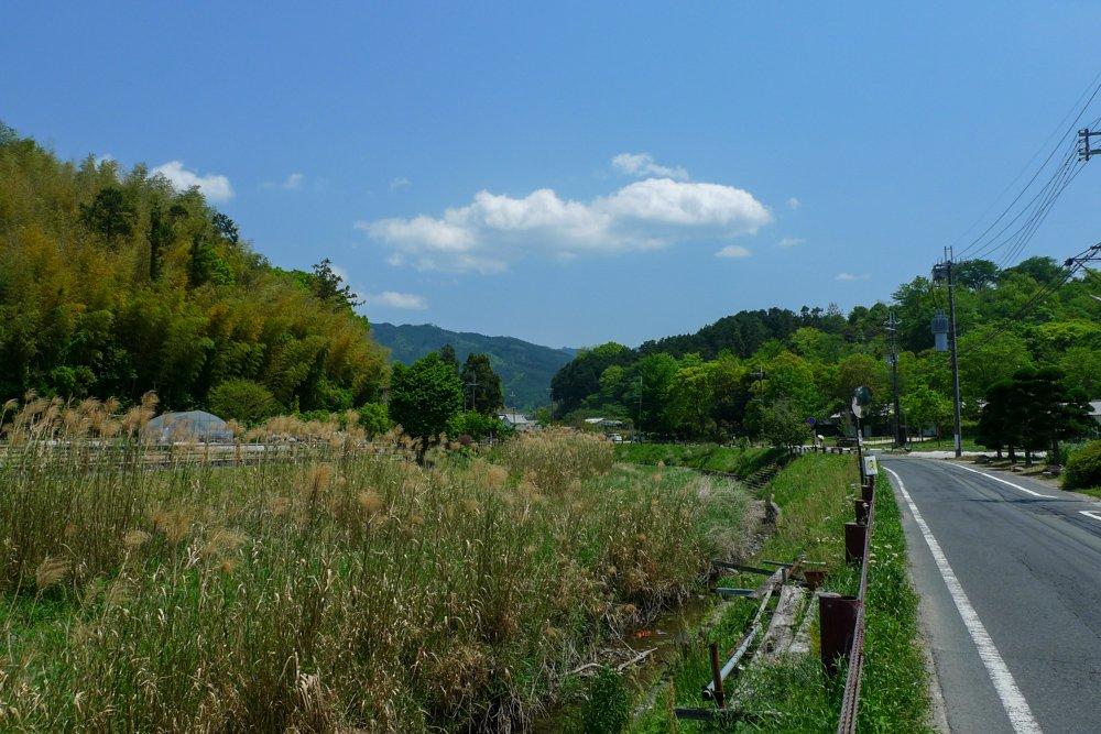 Landschaftlich ist die Gegend auch sehr reizvoll.