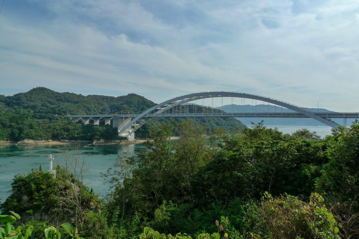 Eine weitere Brücke die ihr auf dieser Radtour durch Japan überqueren müsst.