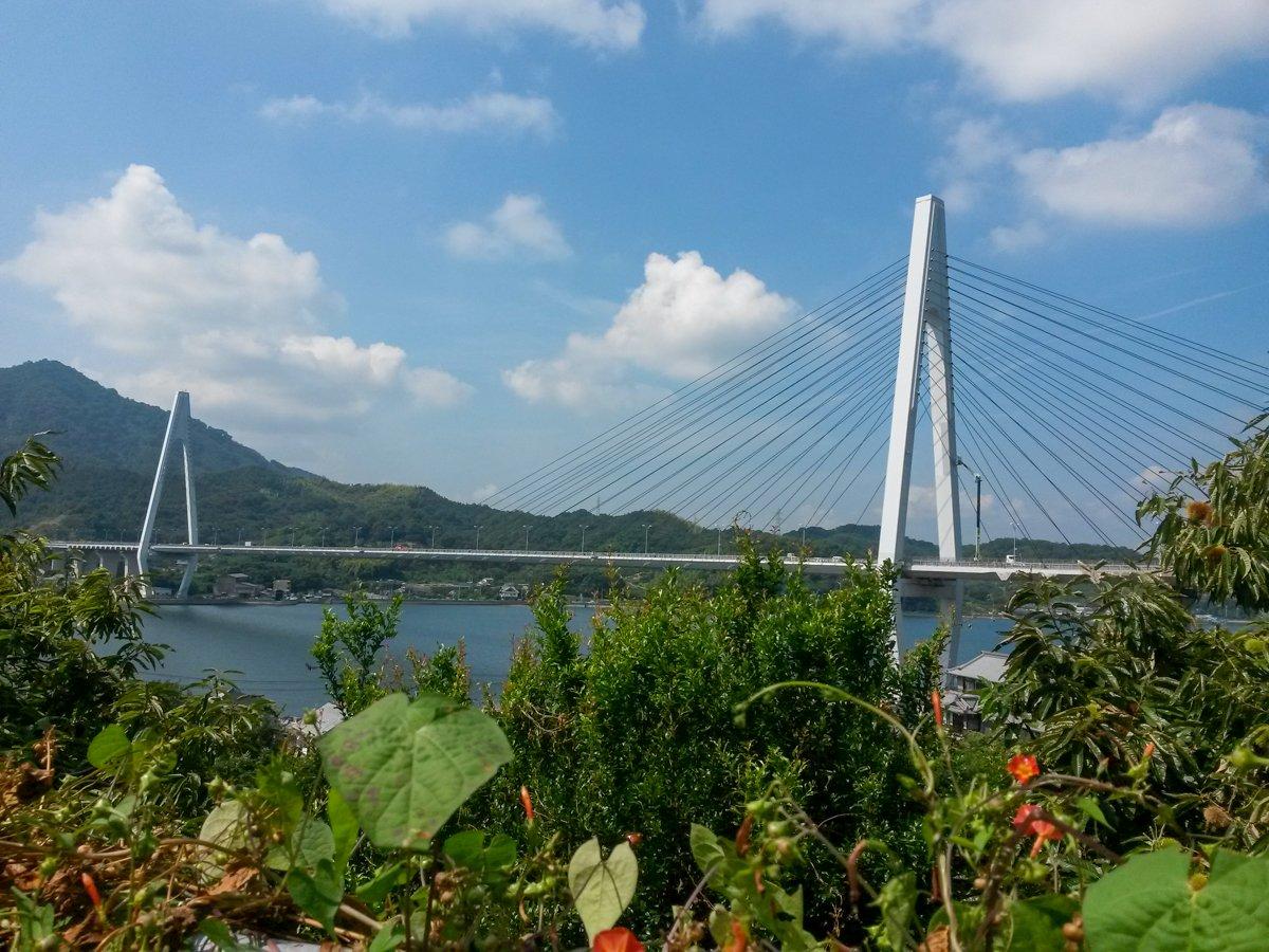 Eine der sechs Brücken über die ihr fahren werdet.
