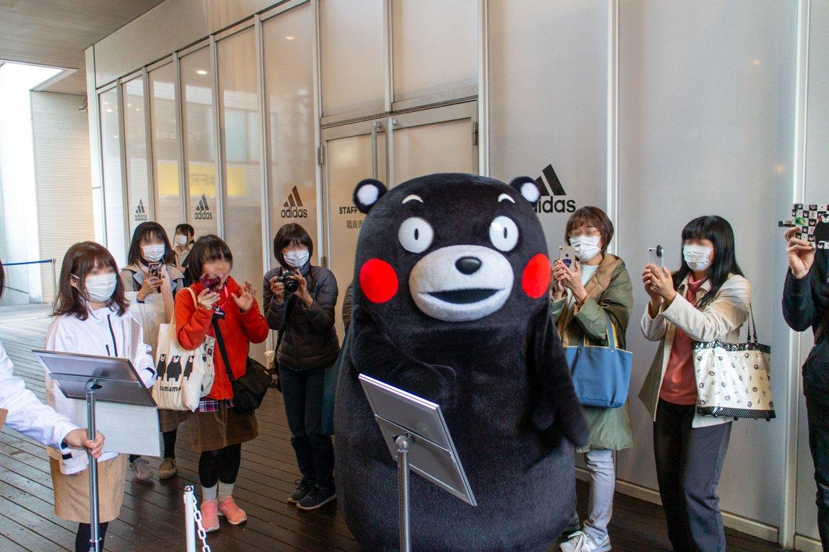 Kumamon trägt zwar keine Maske. Dafür die meisten seiner Fans.