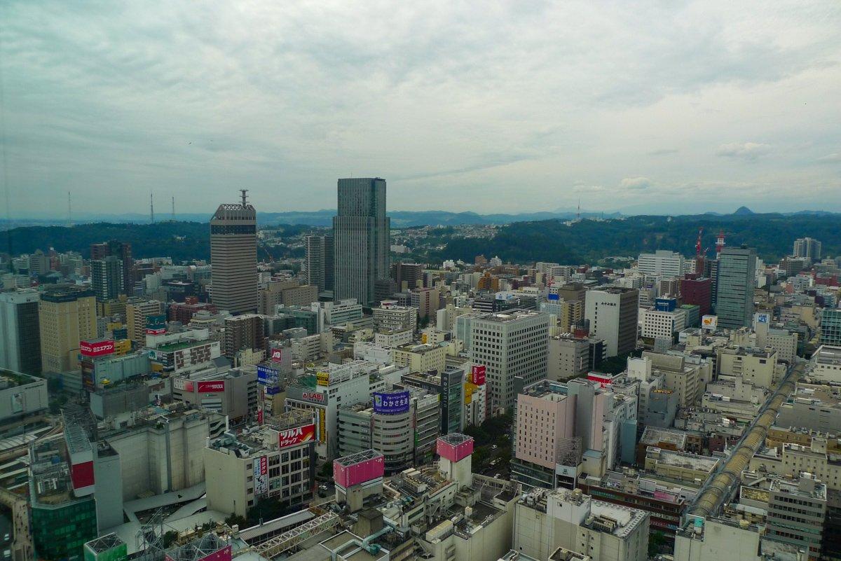 Als Präfekturhauptstadt ist Sendai äußerst belebt und lohnt eine Reise.