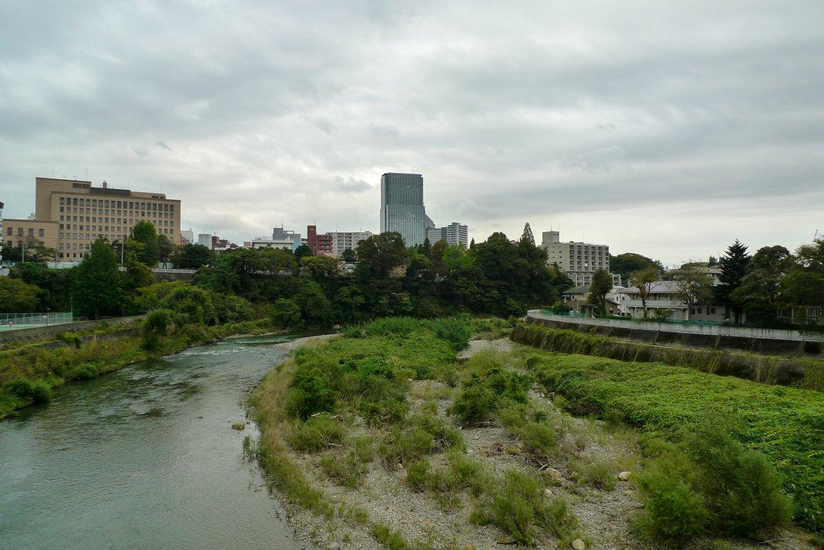 Einige Ecken Sendais, vor allem Richtung Burg, sind überraschen grün.