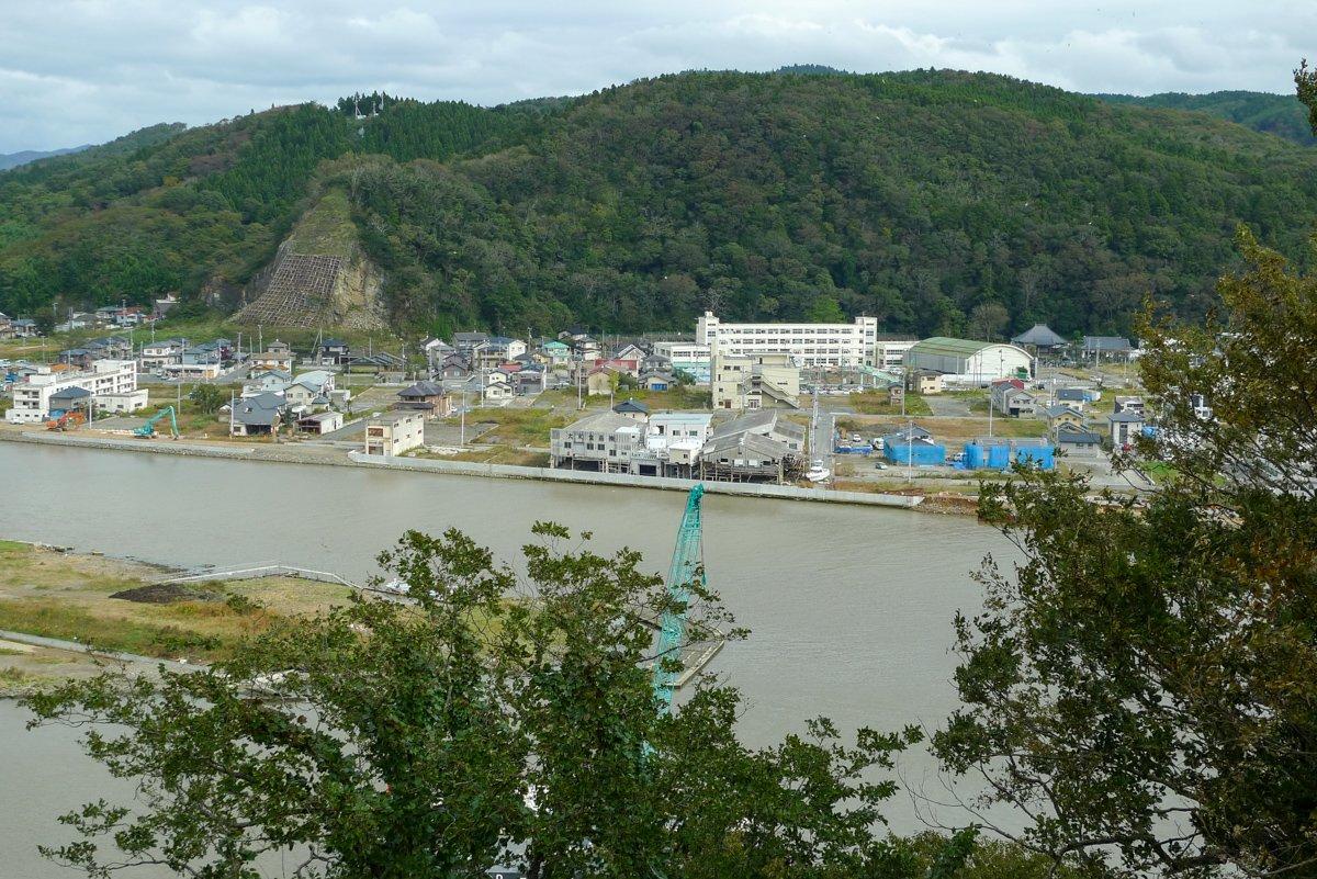 Fotos zeigen, wie die Stadt vor dem Tsunami aussah. Der Vergleich mit der Realität ist erschütternd.