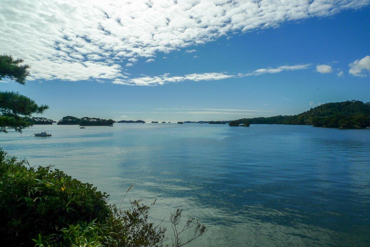 Die Gegend gehört zu den schönsten Landschaften Japans.