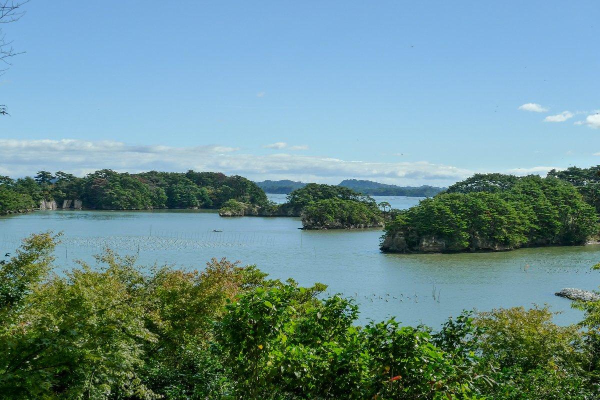 Unzählige Inseln sind erzeugen ein tolles Panorama