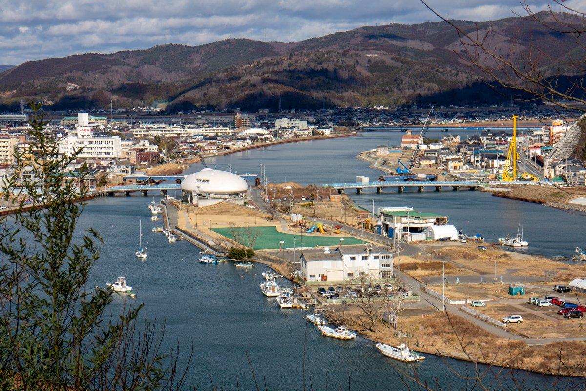 2017 war die Insel im Fluss schon weitgehend wiederhergestellt und die Schäden behoben.