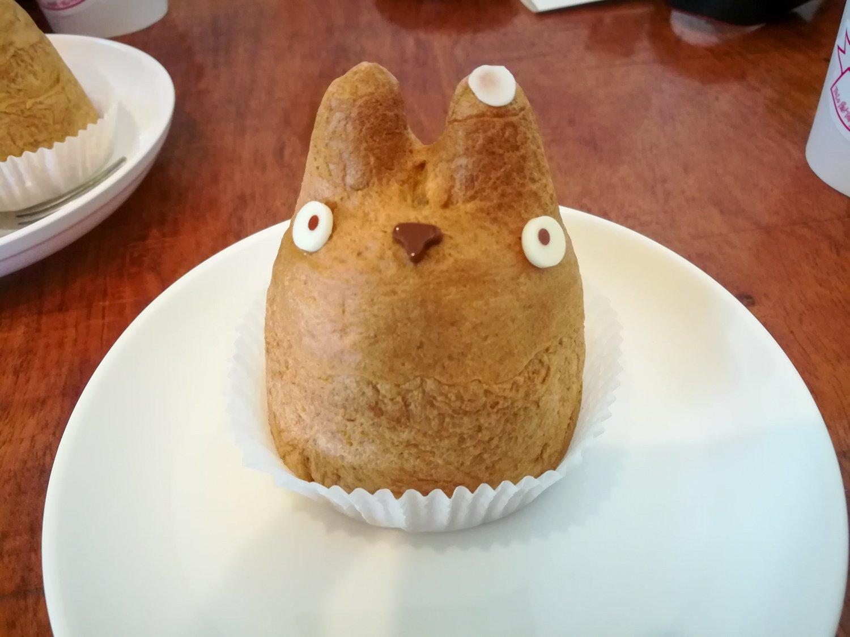 Die Spezialität bei Shirohige: der Totoro Windbeutel