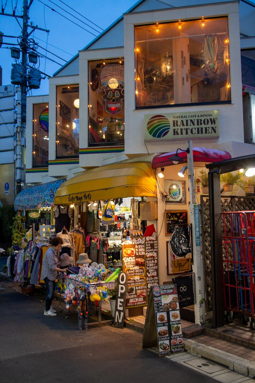 Viele einzigarte und indivduelle Geschäfte gibt es in der Gegend.