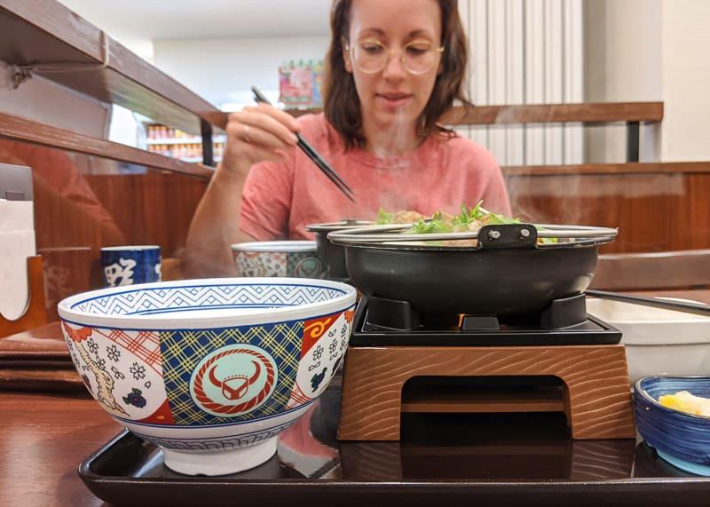 Yoshinoya Sukiyaki