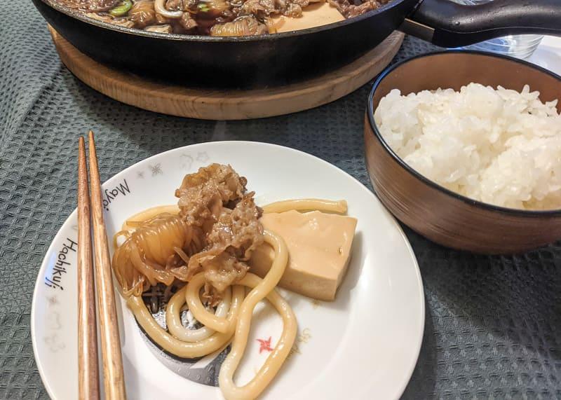 Rezept Udon Sukiyaki