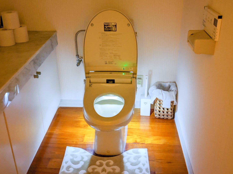 Jaja, Japan und Toiletten. Aber das Exemplar war schon nice.